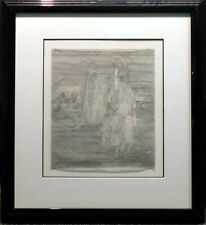 Guillaume Azoulay Untitled ORIGINAL INK Agar on paper  Hand Signed SUBMIT OFFER!