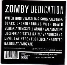 Zomby - Dedication - CD (Domino CAD3119CD)