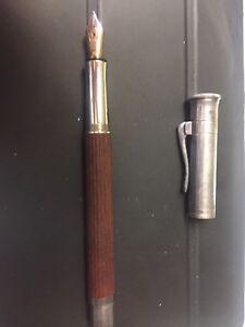 Faber Castell Classic Graf Von Fountain Pen 18K B Nib Grenadilla Wood