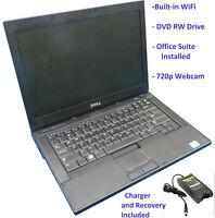 """Dell Latitude E6410 14"""" Laptop: 2.4GHz Core i5-520M 4GB RAM 320GB HDD Windows 10"""
