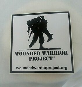 WOUNDED WARRIOR PROJECT STICKER DECAL - NEW