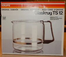 Krups Glaskrug TS 12 TS12 Coffee Maker Glass Carafe NEW 12 Cup