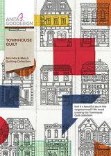 Anita Goodesign Embroidery Machine Design CD TOWNHOUSE QUILT