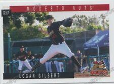 2019 Modesto Nuts Logan Gilbert RC Rookie Seattle Mariners