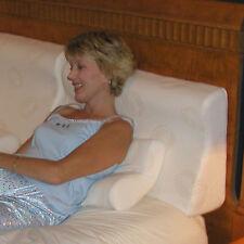 Brittany Organic Conforma-Pedic Sit-Up Headboard Pillow, Queen.