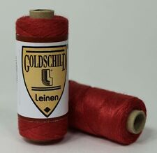 Klöppeln: Goldschild Leinenzwirn Nm 40/3 Nel 66/3 - verschiedene Farben