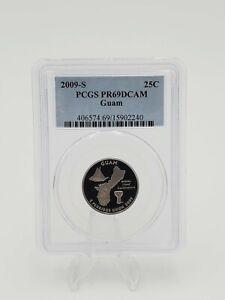 2009-S Guam Quarter PCGS PR69DCAM Collectable US Coin