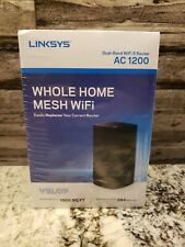 LINKSYS VELOP Whole Home Mesh Dual-Band WiFi 5 Router AC 1200| FREE SHIPPING