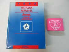 1993 JEEP GRAND CHEROKEE SERVICE SHOP REPAIR MANUAL