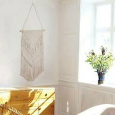 Bohemian Wall Hanging Woven Tapestry Knit Handmade Boho Art Home Decoration NEW