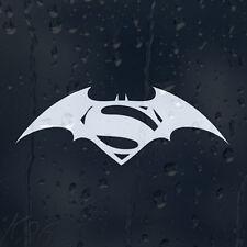 SUPERMAN vs Batman SIGN Logo Auto Decalcomania Adesivo Vinile Per Finestrino Paraurti Pannello