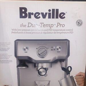 New Breville Duo Temp Pro (BES810BSS) Espresso Maker Machine w/15 Bars 1600 Watt