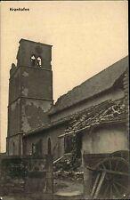 Kranhofen Craincourt Lothringen Frankreich 1. Weltkrieg 1916 zerstörte Kirche