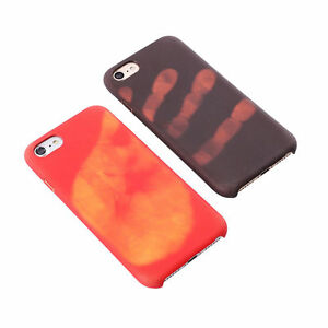 Heat Induction Thermal Color Changing Phone Case Cover iPhone 5 6s 6plus 7 7plus