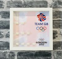 Minifigure Display Case Frame Lego Team Gb Olympics 8909 minifigs figures