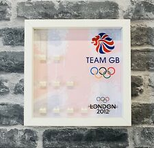 Display Case Frame for Lego Team GB Olympics minifigures 8909 minifigs figures