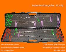 Profi Ausbeulwerkzeuge Set Dellenwerkzeuge Smart Repair PDR Ausbeulset 22 Teilig