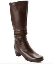 Blondo Evelyn Leather Boot Brown Women Sz 9.5 M 5792