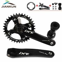 Hexagon hole 115mm,102mm /& 85mm ONE PIECE CRANK for Bike//Bicycles in SILVER
