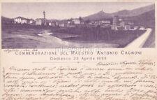 * GODIASCO - Commemorazione del Maestro Antonio Cagnoni 1899