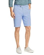 "Brooks Brothers Men's Flat-Front 9"" Bermuda Short, Open Blue, 33W (5708-9)"