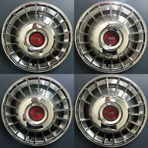 """1970-1973 Ford Torino Fairlane Mustang # 673 14"""" Hubcaps OEM # D00Z1130A SET/4"""
