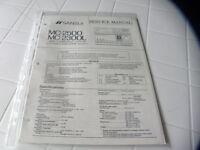 Sansui Factory Original Service Manual MC-2500 / MC-2300L  Mini Component System