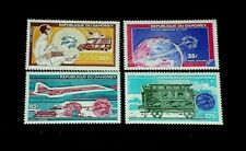 Dahomey, #C221-C224, 1974, Universal Postal Union, Singles, Mnh, Nice, Lqqk