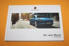 Porsche Macan 2014 Prospekt Brochure Depliant Folder Catalog Prospetto