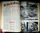 JAPAN CAN'T WIN ON LAND 1945 PICTORIAL COPIED U.S. WEAPONS INFERIOR WORLD WAR II