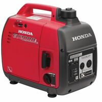 Honda Portable Generator with Inverter EU2000I Companion Super Quiet 2000 Watt