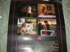 Vintage Hiney Wines 1985 Wall poster calendar