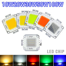 10W 100W LED Chips SMD Lamp Bulb Bead For Flood Light High Power LED 20W 30W 50W