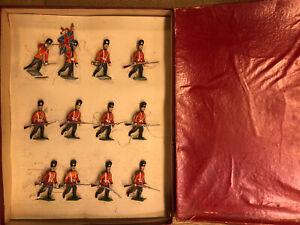 Haffner: Boxed Set - British Grenadier Guards Advancing. Pre War c1900