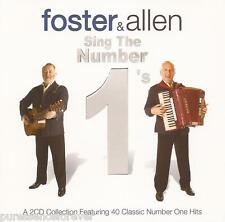 FOSTER & ALLEN - Foster & Allen Sing The Number 1's (UK 40 Tk Double CD Album)