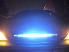 White 50cm Knight Rider Light Flash Car Strip Light Strobe DRL Day Running Light