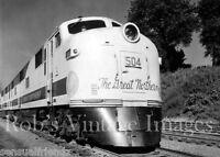 Great Northern Railroad Empire Builder Photo Vintage1950s Train EMD F Locomotive