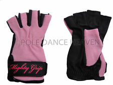 MIGHTY GRIP GLOVES - LARGE NON TACK FOR POLE DANCING