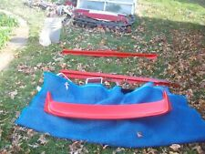1999 2000 2001 FORD MUSTANG SPOILER OEM PERFORMANCE RED YR33 6341602 AA W
