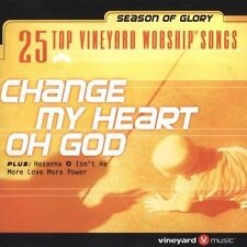 Change My Heart: 25 Top Vinyard Worship Songs