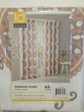 "Intelligent Design 50"" Wide by 63"" Length Window Panel ID40-1024 1 Per Pack New"