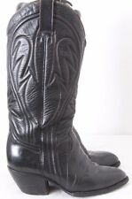 """Rudel Rogers 808 Pointed Round Toe Cowboy Western 14"""" Tall Boots Men's US 7"""