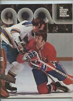 February 10 1974 NHL Hockey Program Philadelphia Flyers Montreal Canadiens GOAL