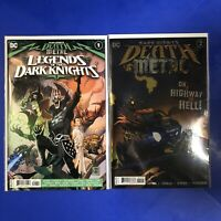 DARK NIGHTS DEATH METAL #2 LEGENDS DARK KNIGHT #1 1st Robin King Batman 2020 NM+