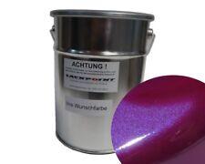 0,5 Liter Spritzfertigen Basislack Candy Violett Metallic Autolack Trendlack neu