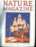 Nature Magazine January 1929 Ship VG No ML 020617jhe