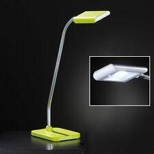 Honsel Lámpara de Mesa Led Pala 1 Luz Verde Flexarm Interruptor 3 Vatios 200 Luz