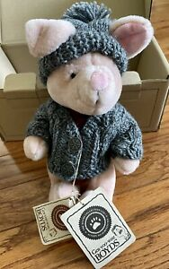 New Boyd's Exclusive Disney Collection Pooh Bear's Winter Holiday Piglet #95982