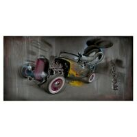 Rat Rod #80 - Noah - Limited Edition Giclee on Canvas