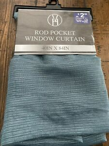 1 Rod Pocket Window Curtain